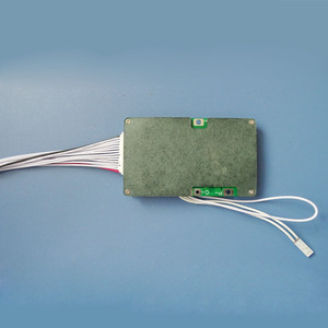 Image 4 - 58.8V 14S Lithium battery PCB board with 40A Constant current for electric scooter Li ion or Lipo 48V Battery BMS with switch