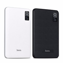 HOCO Universal Fast Charger 30000mAh Mobile Power Bank Three USB Output Batteries Digital Display powerbank for Iphone 5 6 7 New