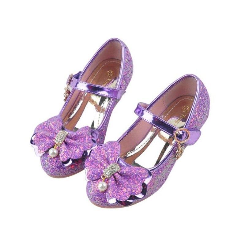 e0bca7c75628 Haochengjiade 2 Colors Children Princess Shoes Kids Girls Wedding