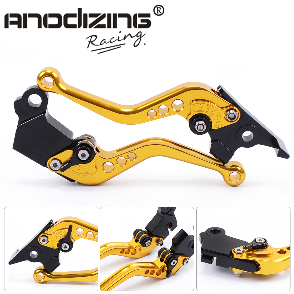 F-16 D-37  Motorcycle Brake Clutch Levers For MOTO GUZZI BREVA 750 2004-2009 V7 Racer 11-17 V7 Classic/Stornello  08-17 gt motor f 16 dc 80 adjustable cnc 3d extendable folding brake clutch levers for moto guzzi breva 1100 norge 1200 gt8v