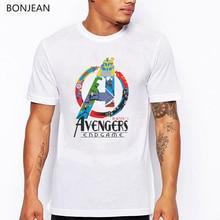 Avengers Endgame t shirt Men Iron Man Stark Super Hero print tee homme hip hop Funny rainbow lgbt T Shirts cool tops