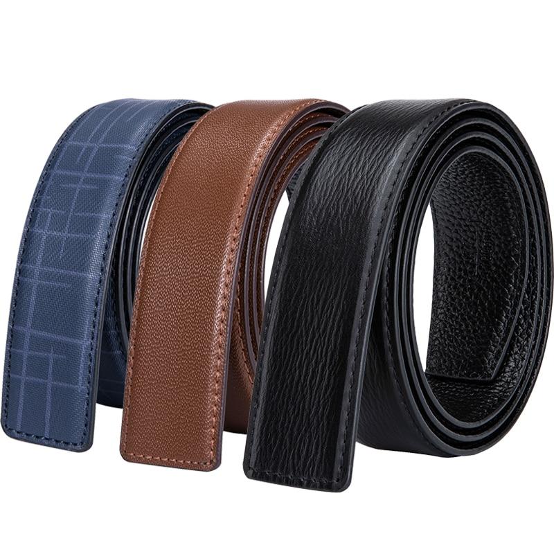 2 Color de piel de vaca genuino cinturón de cuero sin hebilla, H hebilla de cuero cuerpo cinturón hebilla para hombres de diseñador H cinturones cuerpo 3,5 cm