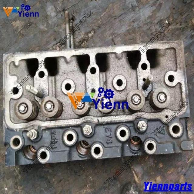 US $874 0 |Aliexpress com : Buy Used Yanmar 3TNE74 Cylinder Head Assy  719623 11700 For Yanmar VIO30 mini excavator 3TNE74 diesel engine parts  from