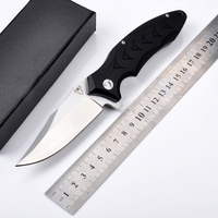 New Wild Jungle Survival Camping Knife Hunting Knife G10 Handle Utility Tactical Folding Knife Outdoor Camping
