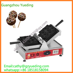 New style Cake pop waffle machine/CE approved Stick cake pop maker/Twist pop waffle maker/lollipop shape cake