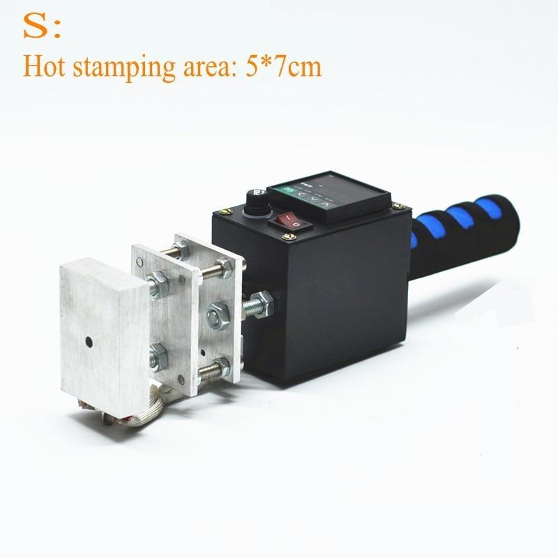 Hand Held Hot Stamping Machine Branding Machine LOGO Label