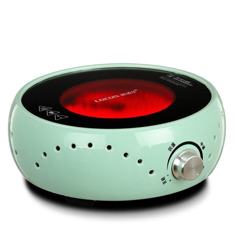 AC220 50 V 60 hz mini fornello elettrico in vetroceramica FORNELLO CALDAIA CAFFÈ bollente tè caffè riscaldamento 800 w di potenza SENZA POT - 2