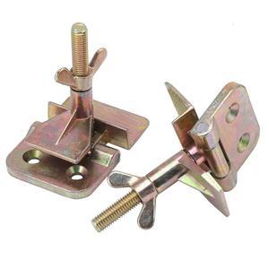 Image 4 - Abrazadera para bisagra de mariposa, accesorio para bisagra de mariposa de Metal con serigrafía, 2 unidades