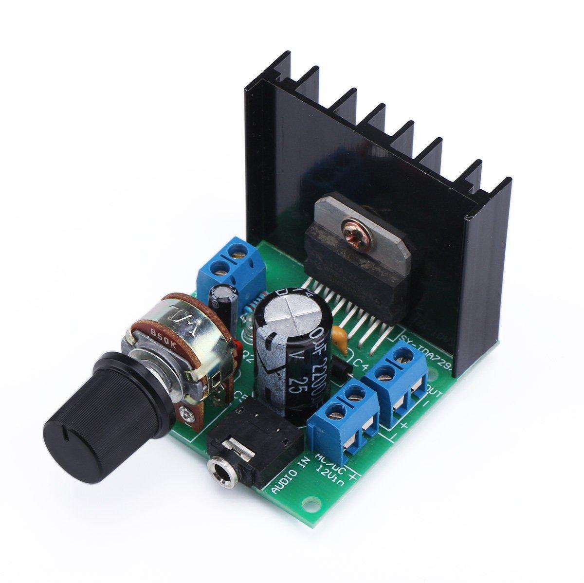 Amplify Module Audio Component Amplifier,TDA7297 (TDA7297 15W+15W)
