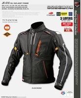 New arrival Komine JK 016 Full Year Jacket TITANIUM Racing Clothes winter jacket