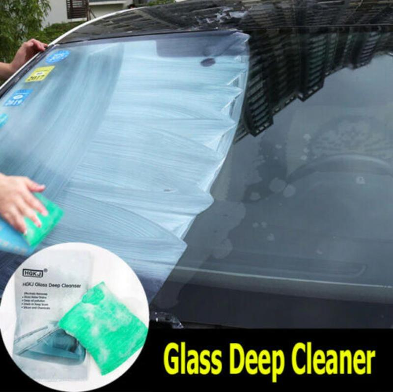 New Glass Deep Cleanser Car Windscreen Scratch Remove Polishing Pad Tool Auto Window Scratch Repair Remover Glass Brush