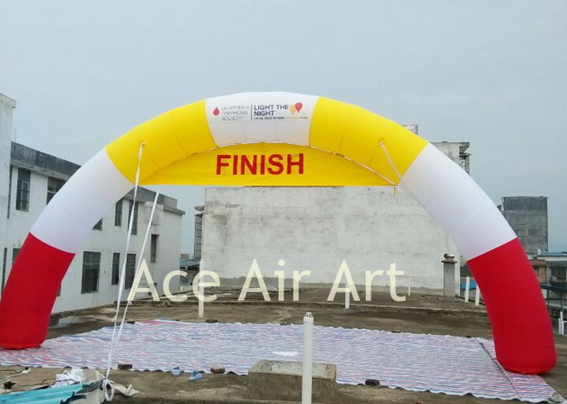 free air blower promotional inflatable arch,archway rental for advertising