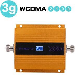 Image 2 - 65dB репитер 3g усилитель сигнала wcdma 3g UMTS 2100 мобильный сотовый ретранслятор сигнала Усилитель 3g усилитель антенны ЖК дисплей