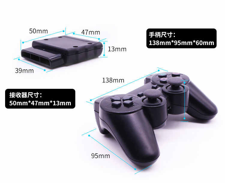 2 4G Wireless Playstation PS2 With Handle Receiver For Arduino DIY Smart  Car Balancing Car Robot Manipulator Rocker RC Toy