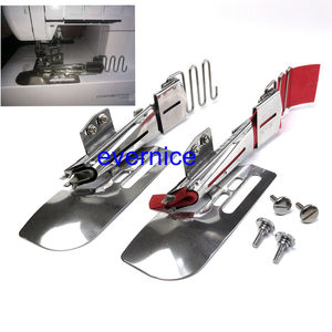 Image 1 - 2 Set Top Clean Bottom Raw Type A Binder W/Screw For Janome Babylock Coverstitch
