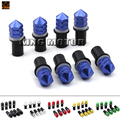 Motorcycle Accessories Universal M5 5mm Windscreen Windshield Bolts Screw Kit 8pcs Six Colors