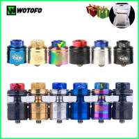 Original New Wotofo Profile RDA RTA Tank Vape Atomizer 24mm e cigarette vapor tank 510 thread fit mesh coil squonk pin RTA RDA