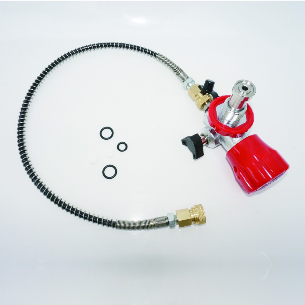Thread G5/8 din Scuba valve use gas Cylinder Filling Station with a regulator to refilling tanks for Sale-K durable useful carbon dioxide fire extinguisher valve hot selling china made gas tanks valve k
