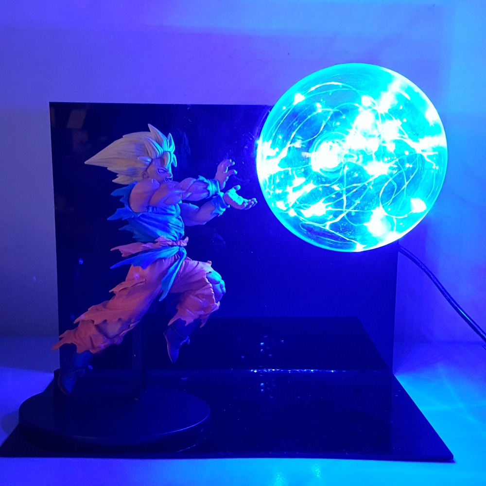 Lights & Lighting Dragon Ball Z Goku Diy Led Lighting Lamp Anime Dragon Ball Z Super Saiyan Fes Dbz Son Goku God Led Night Lights Luces Navidad Led Lamps