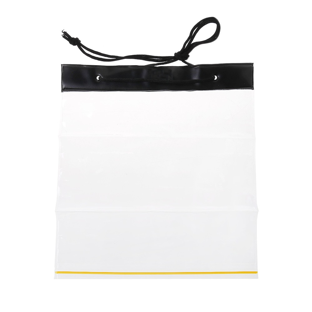 Outdoor Waterproof Bag Transparent PVC Clear Map Holder Bag Storage Case Dry Bag