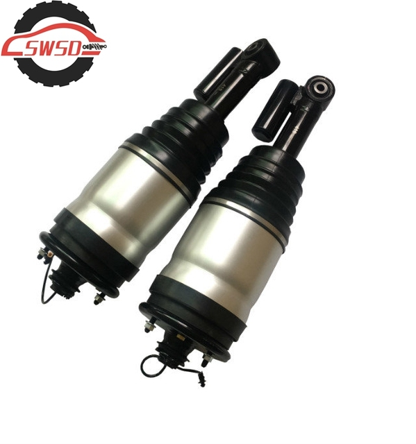 Pair Rear Left & Right Air Suspension Shock Absorber With ADS for Range Rover Sport 2010-2013 Discovery 4 LR015018 LR015020