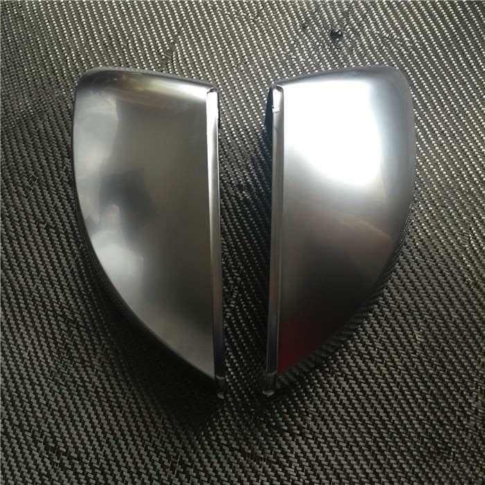 For Audi A3 8V S3 Chrome Rearview Mirror Shell