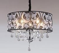 Хрустальная спальня ресторан люстра Джейн круглый светодио дный теплый светодиодный Кристалл Потолочный светильник простой небольшой гос