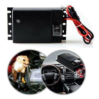 Rat Mice Animal Rodents  Upgrade Version Ultrasonic Underhood Animal Repeller for Car Truck Motobike Vehicle Pest Control