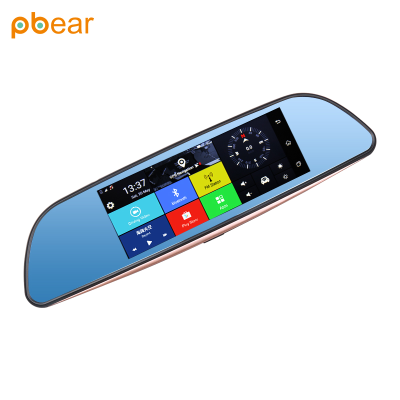 Pbear GPS driving recorder app download operational wifi copulation  bluetooth intelligent music player night vision-in Car MP4 & MP5 Players  from