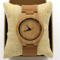Fashion Japan Quartz Woman Wood Deer Head Watch Classic Simple Analog Luxury Vintage Genuine Leather Band