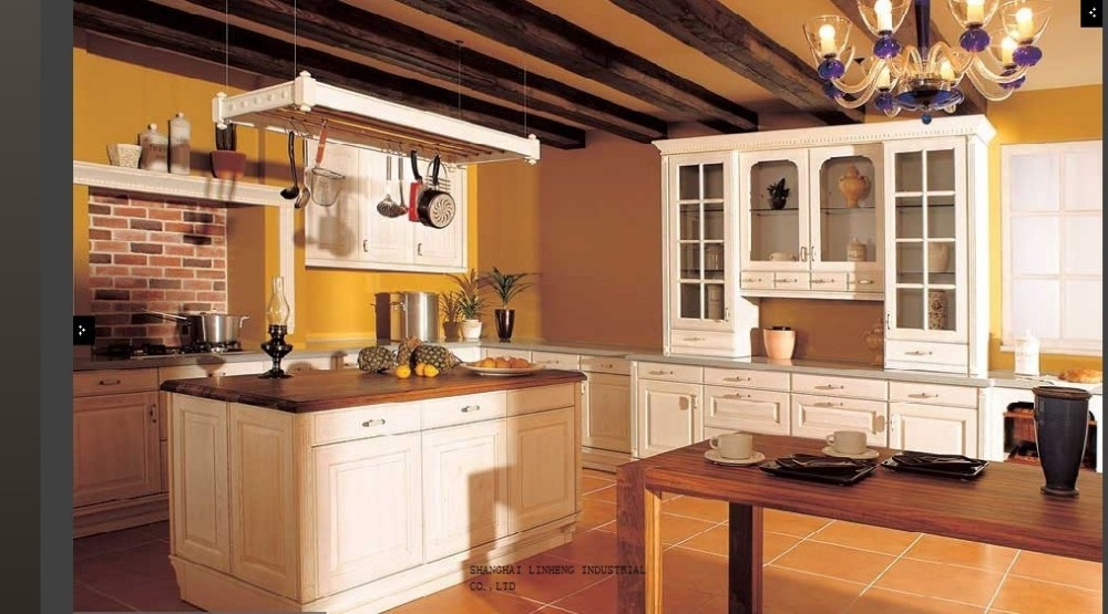 Modular Wood Kitchen Wall Hanging Cabinet(LH SW039)-in Kitchen Cabinets From Home Improvement On