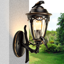 Henlet открытый сад балкон настенный светильник, 0273-WU лампы, водонепроницаемый открытая терраса коридор