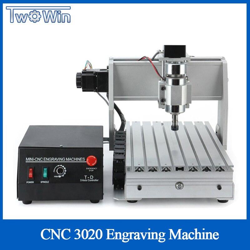 USB CNC Laptop 3 Axis CNC 3020B CNC Router CNC 3020 300w Spindle CNC Machine Milling