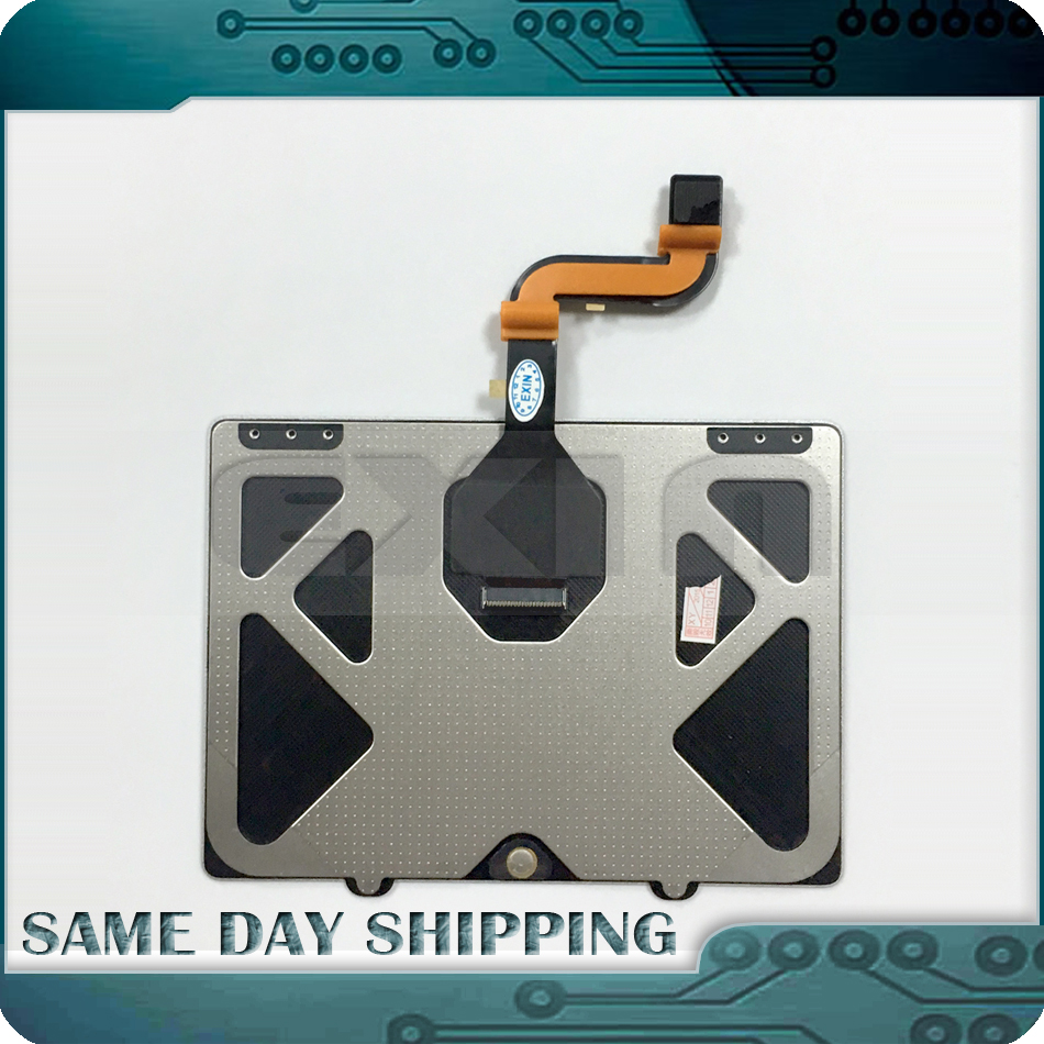 New Laptop Touchpad for Apple MacBook Pro retina 15 A1398 Touchpad Trackpad+Flex Cable Late 2013 Mid 2014 EMC 2674/2745/2876 lmdtk new laptop battery for apple macbook pro retina13 inch a1502 2013 2014 year a1493