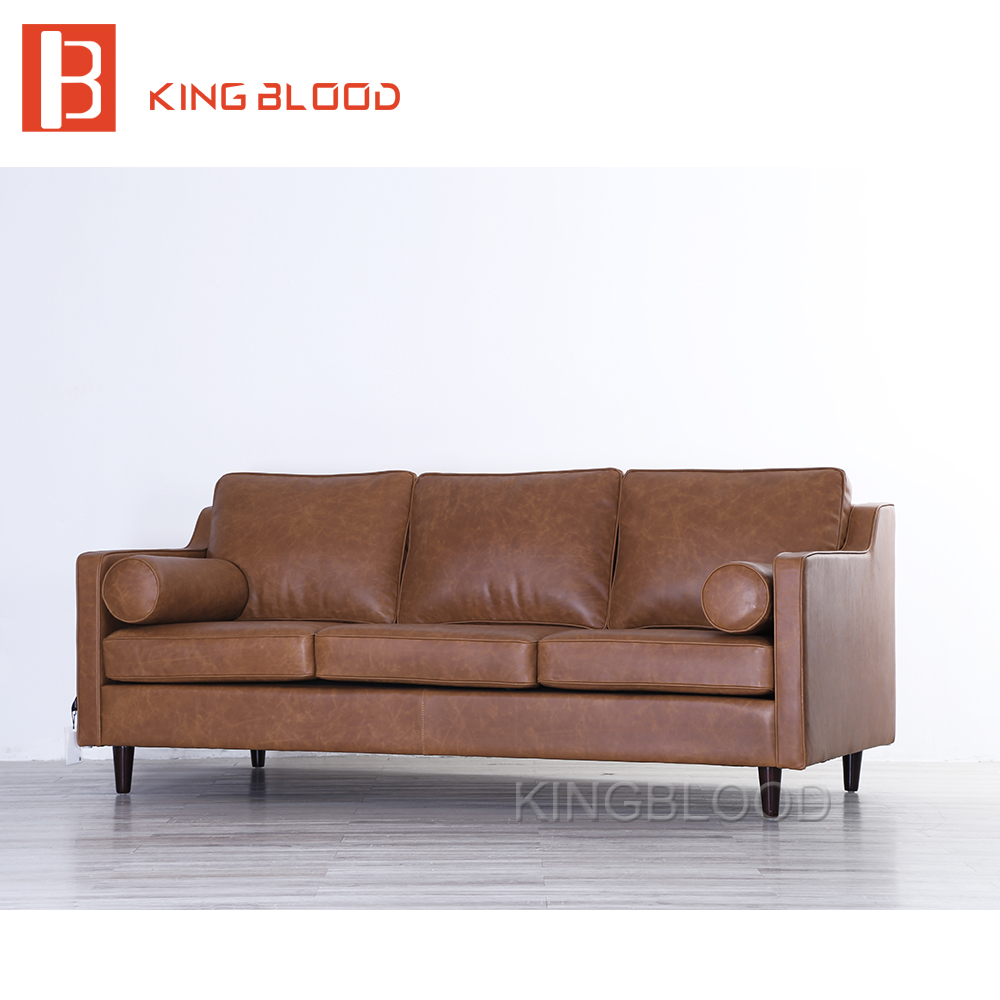 Buy modern italian leather sofa set model with pictures from china image