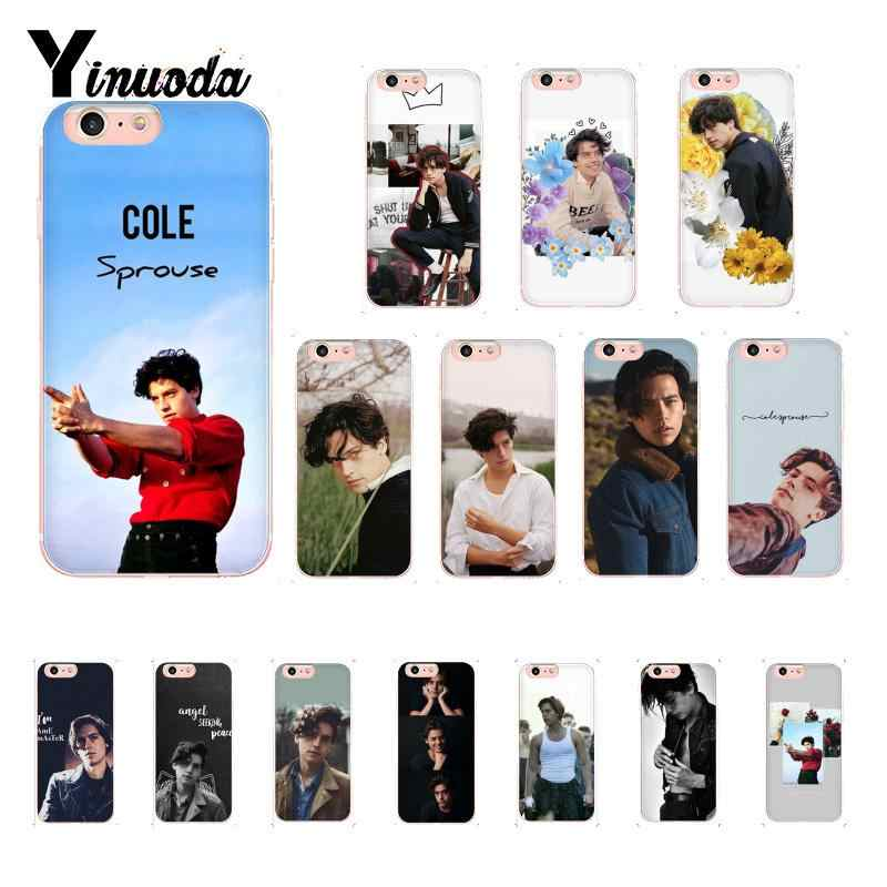 Yinuoda Cool Cole Sprouse Popular Heart Jughead Aesthetic Cute Phone Case for iPhone X XS MAX 6 6S 7 7plus 8 8Plus 5 5S XR 10