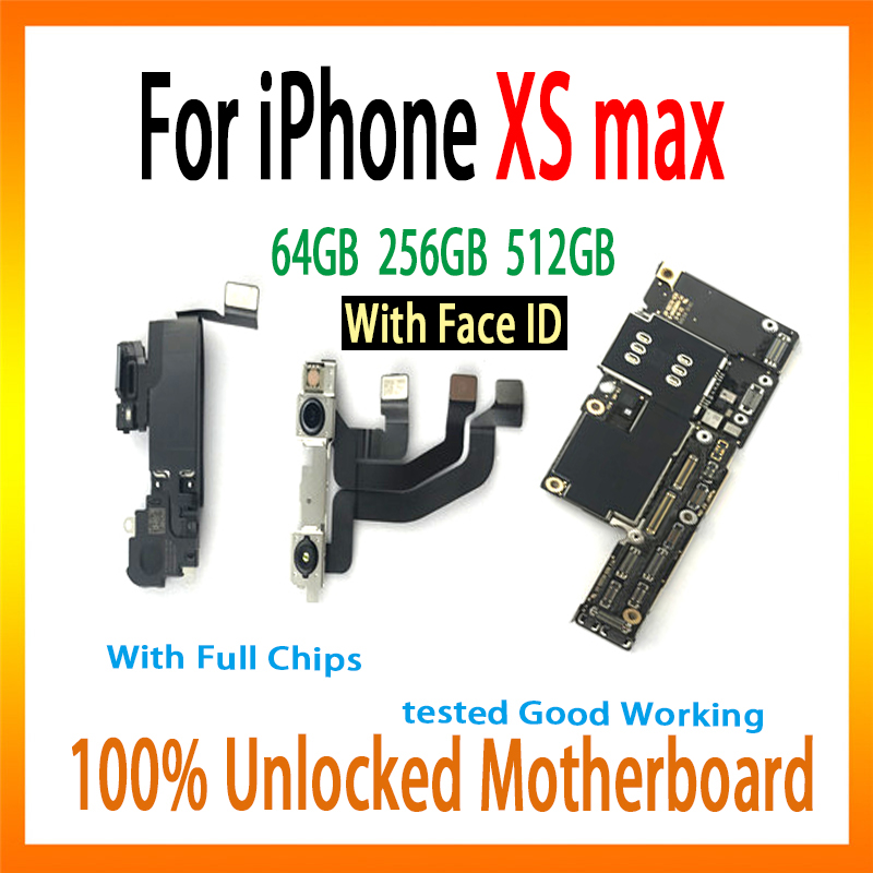 For iPhone XS Max motherboard with Face ID Factory logic