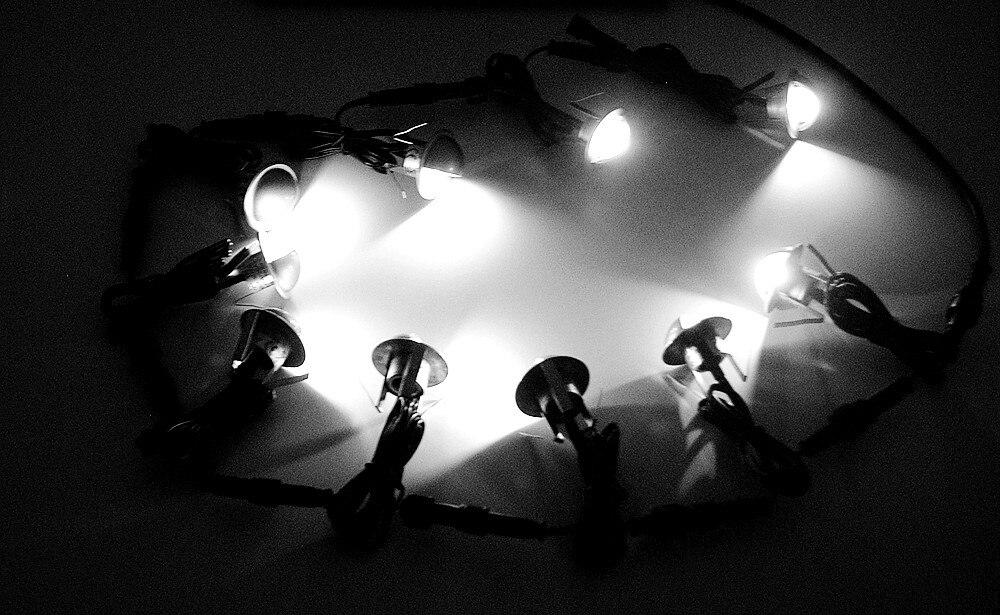 Ar Livre Conduziu a Luz Subterrânea para