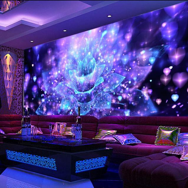 Sophisticated Wallpaper Room Karaoke Contemporary - Simple Design ...