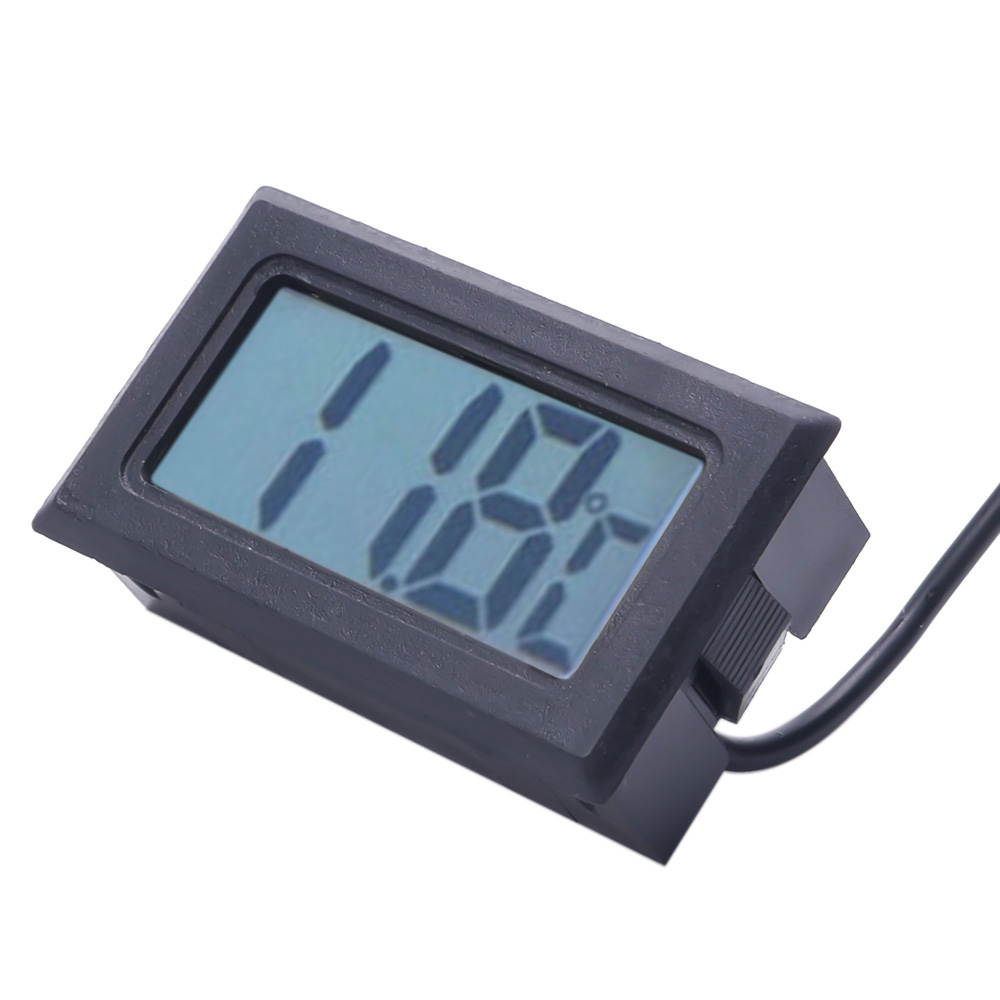 Baldr Digital Thermometer Clock Wired Probe Indoor Outdoor Trend ...