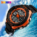 Style Fashion Sports Brand Watch Men's Digital Shock Resistant Quartz Alarm Wristwatch Outdoor Military LED Casual Watches Skmei