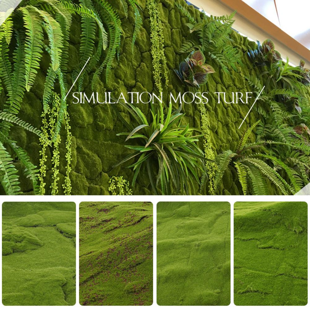1mx1m Artificial Moss Turf Mini Fairy Garden Simulation Plants