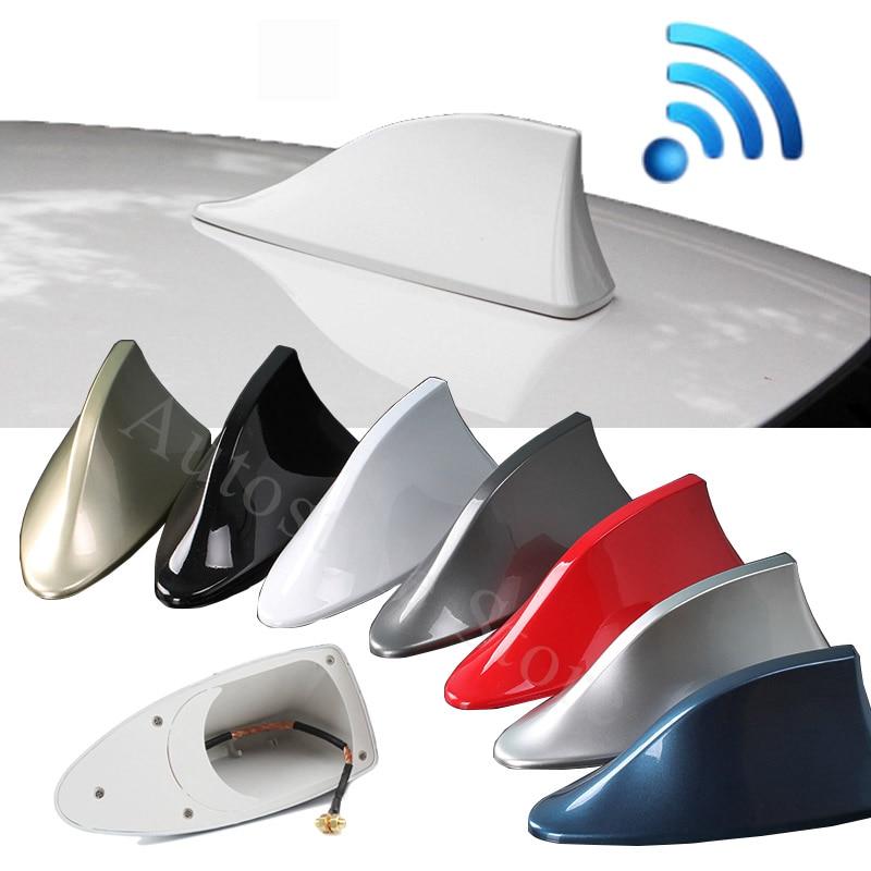 Antena tipo aleta de tiburon de coche antenas de señal de Radio de coche accesorios para el opel insignia astra g j f k vectra c h corsa c b d omega zafira b