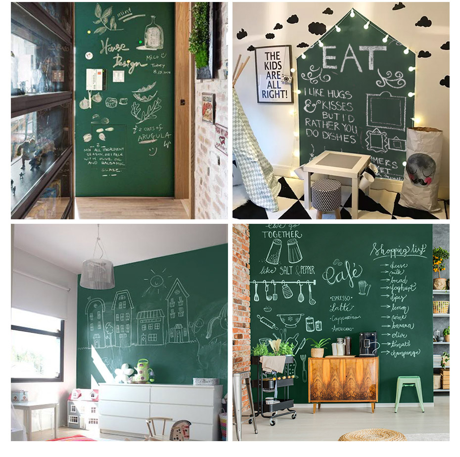 Green Drawing Board Toys Removable Erasable Drawing Graffiti Writing Learning Message Chalk Board Toy Kids Child Teaching Aids_14