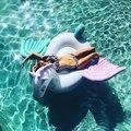 """Gaint """"unicórnio"""" Colchão inflável """"Pegasus"""" Float piscina Brinquedo Tomar Sol Praia Mat Almofada De Ar Bóia Anel Círculo Natação Brinquedos Festa"""