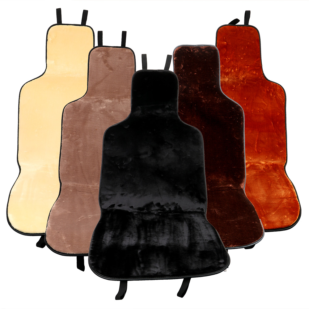 FORAUTO Seat Protector Car-styling Winter Supply Car Seat Cushion Pad Interior Accessories Automobiles Seat Covers Warmer