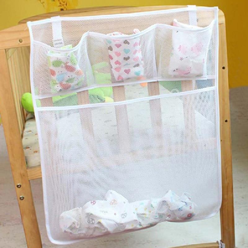 beb cama cuna juguetes colgantes del sostenedor del organizador del paal de ropa bolsa de