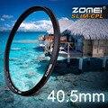 Zomei 40.5 мм сверхтонкий CPL циркулярный поляризационный фильтр поляризатор фильтр для Olympus Sony Nikon канона Pentax хойя объектив 40.5 мм