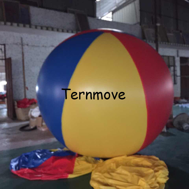 все цены на giant inflatable ball for kids lawn play colorful inflatable beach ball, custom made summer beach play air balloon for sale онлайн