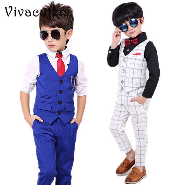 a3da16266 Aliexpress.com   Buy Boys Formal Suits Kids Weeding Party Sets ...